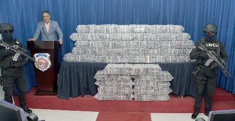 Decomisan cargamento de drogas dentro de contendedor DN