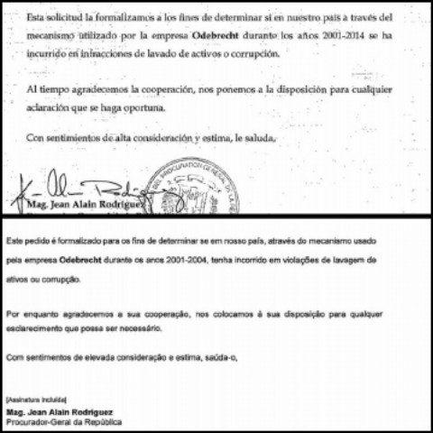 Se registra contradicción en documentos de Odebrecht