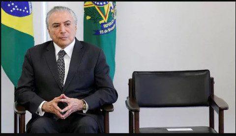 Justicia electoral brasileña retoma proceso judicial de Michel Temer
