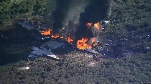 EEUU: al menos 16 muertos en accidente de avión militar
