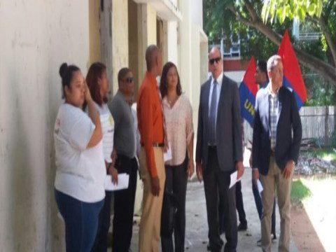 Facultad de Humanidades UASD da plazo a OISOE para culminar remodelación de instalaciones