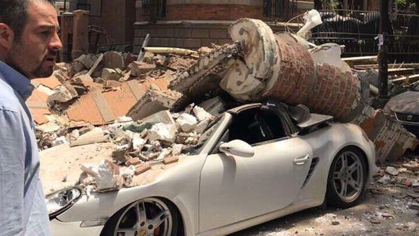Un fuerte terremoto sacudió la capital de México