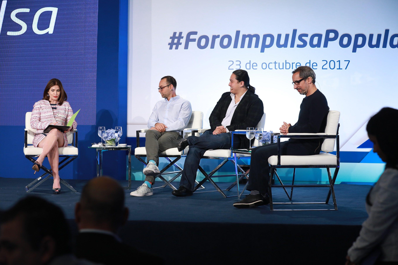 Banco Popular presenta en su foro impulsa ejecutivos de diferentes redes sociales