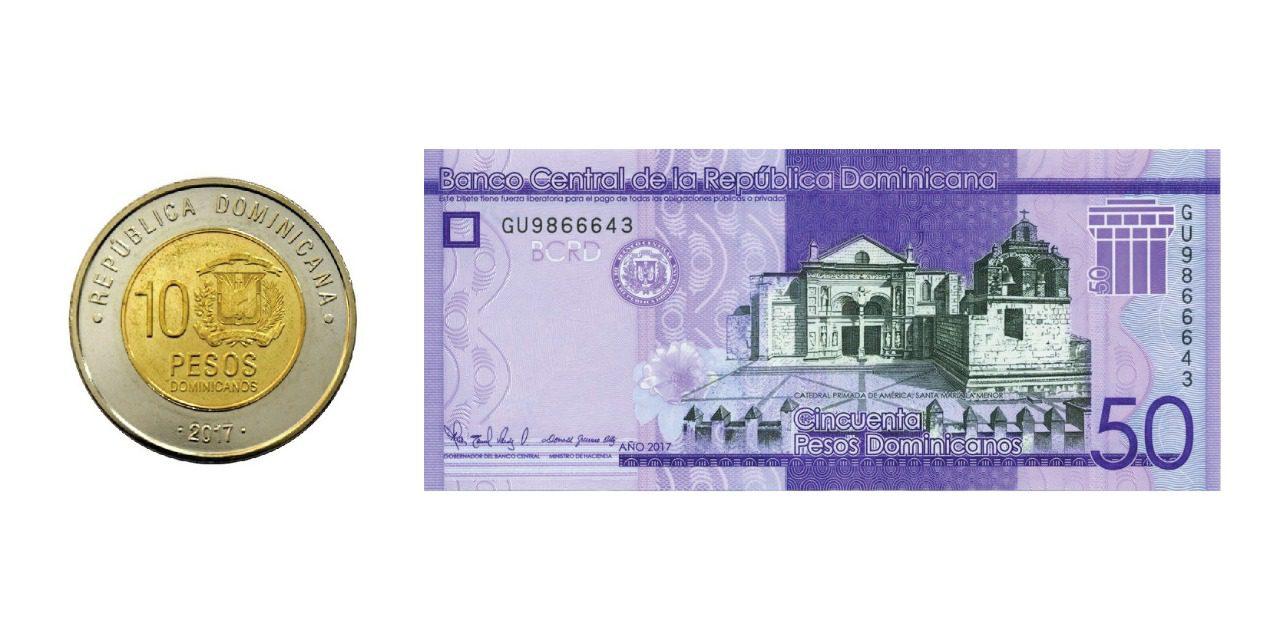 Resultado de imagen para El Banco Central anuncia cambios en moneda de 10 pesos y en el billete de 50