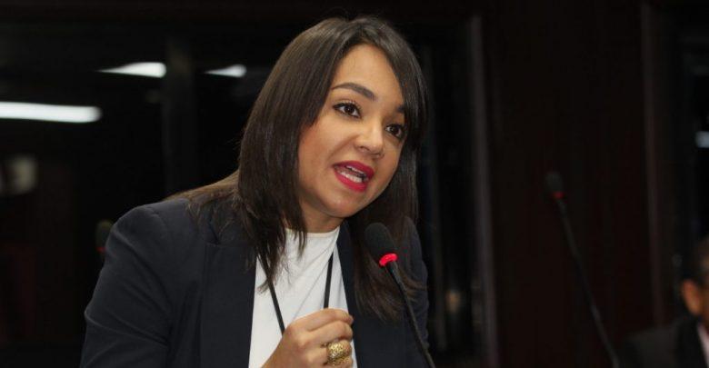 Faride Raful, senadora del Distrito Nacional.