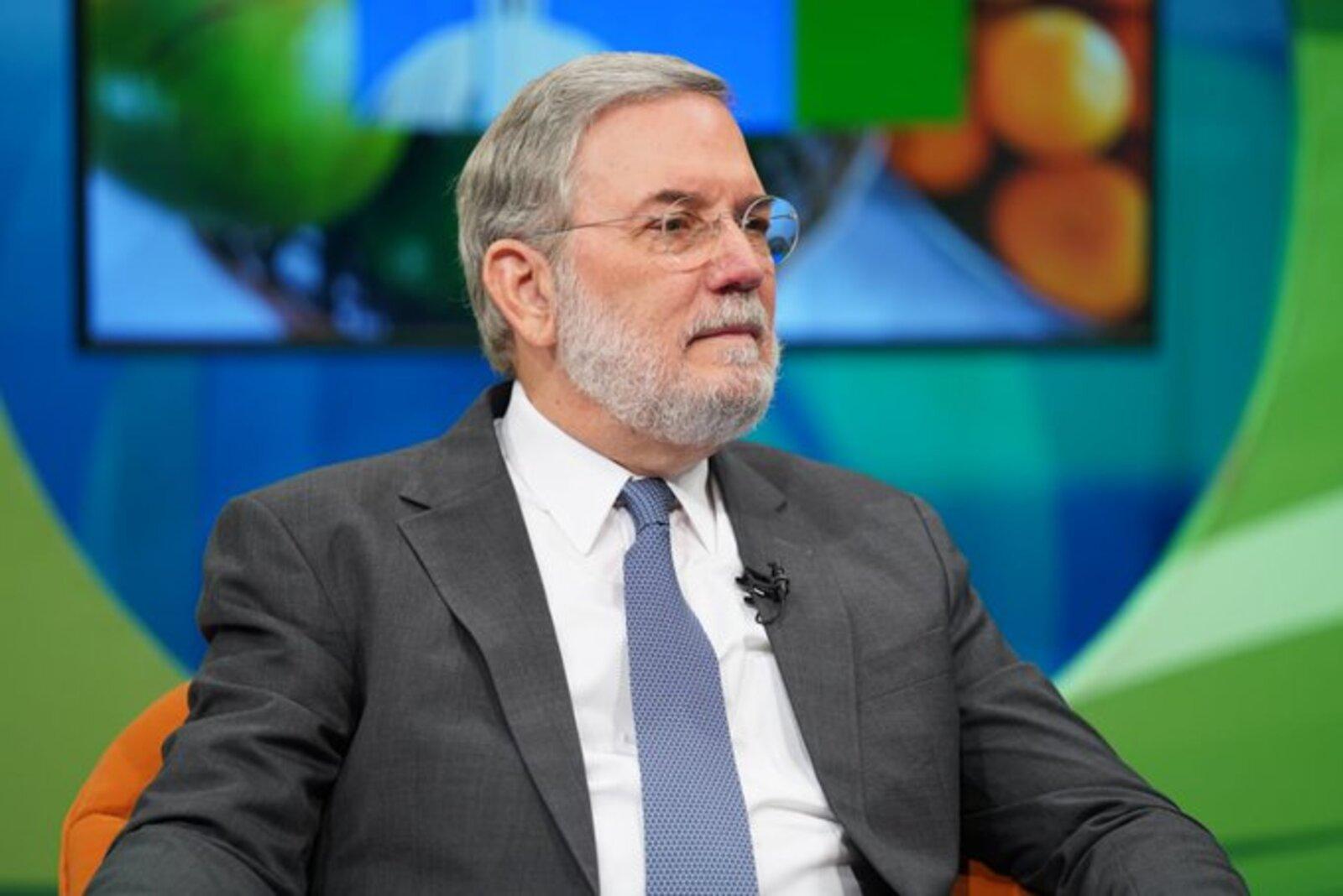 Roberto Rodríguez Marchena durante entrevista