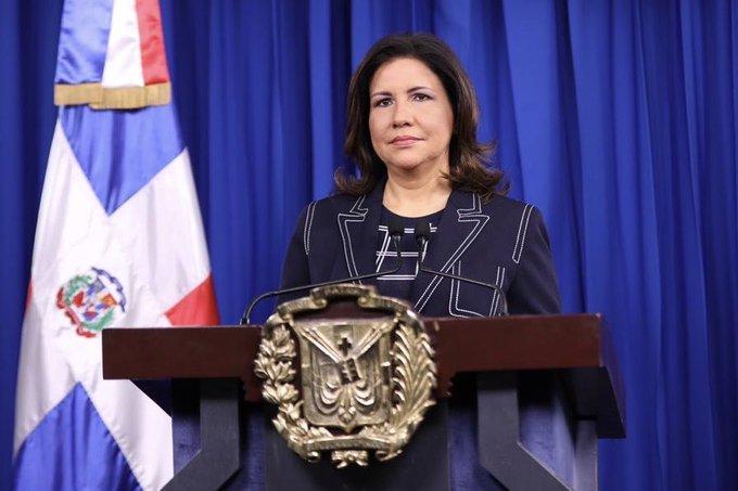 Vicepresidenta Margarita Cedeño de Fernández.