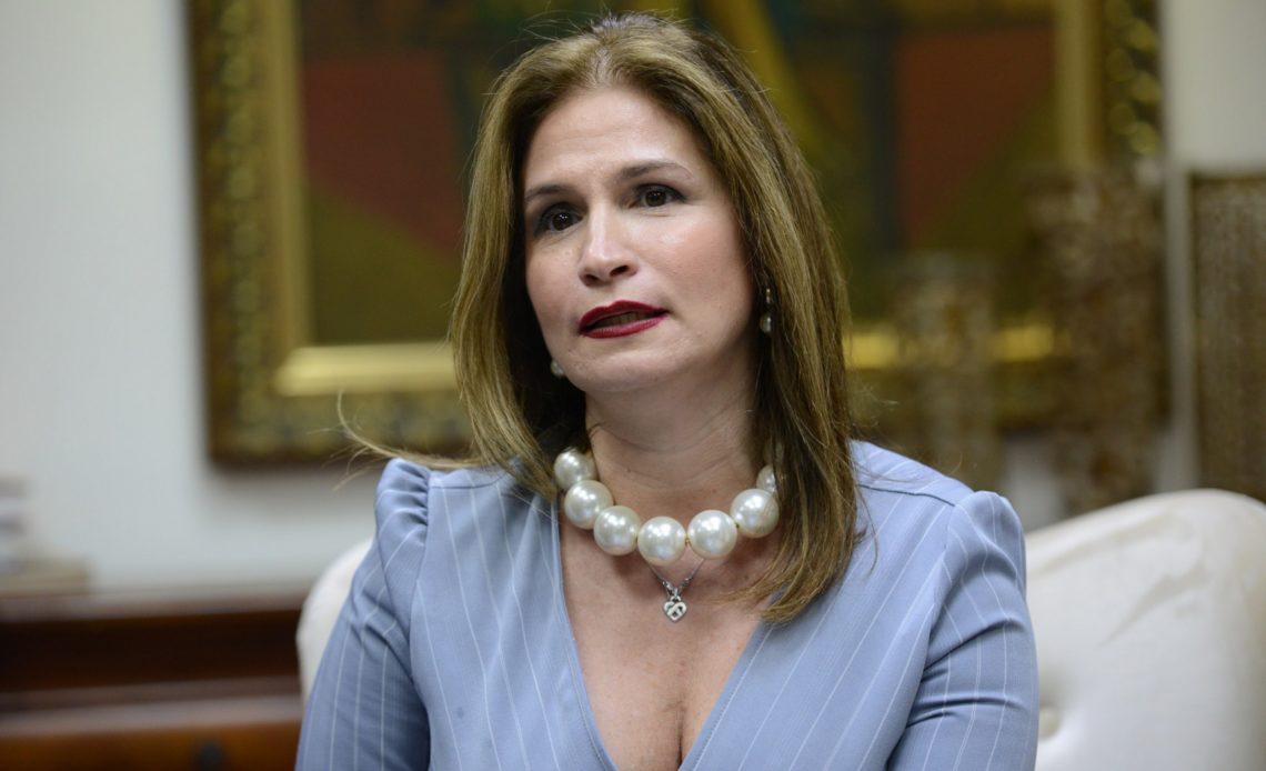 Circe Almánzar, vicepresidenta ejecutiva de la AIRD.