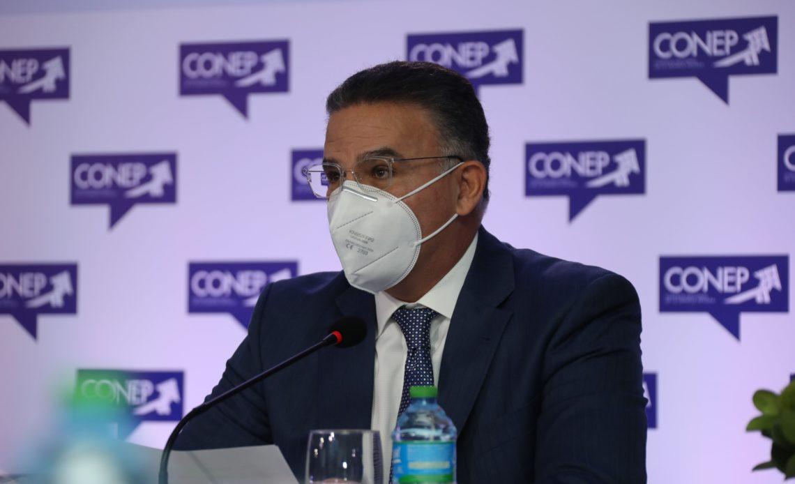 Pedro Brache, presidente del CONEP. Foto Fuente Externa