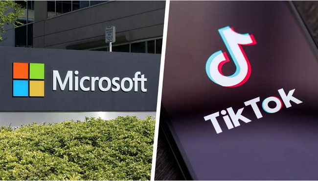 Microsoft negocia la compra de TikTok, según The New York Times