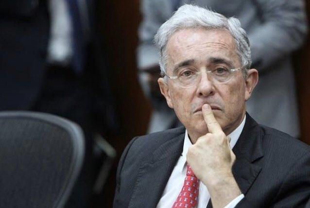 Alvaro Uribe Velez, expresidente de Colombia