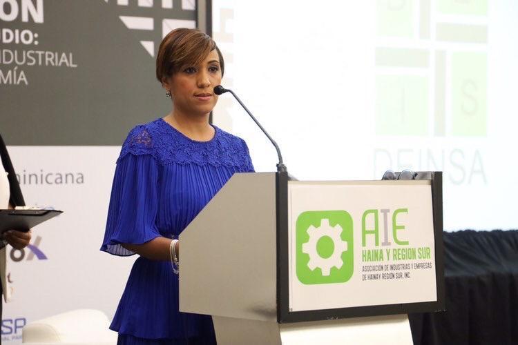 Bredyg Disla, presidente de AIE-Haina y Región Sur.