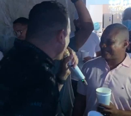 En medio de crisis sanitaria, alcalde de Montecristi realiza fiesta privada
