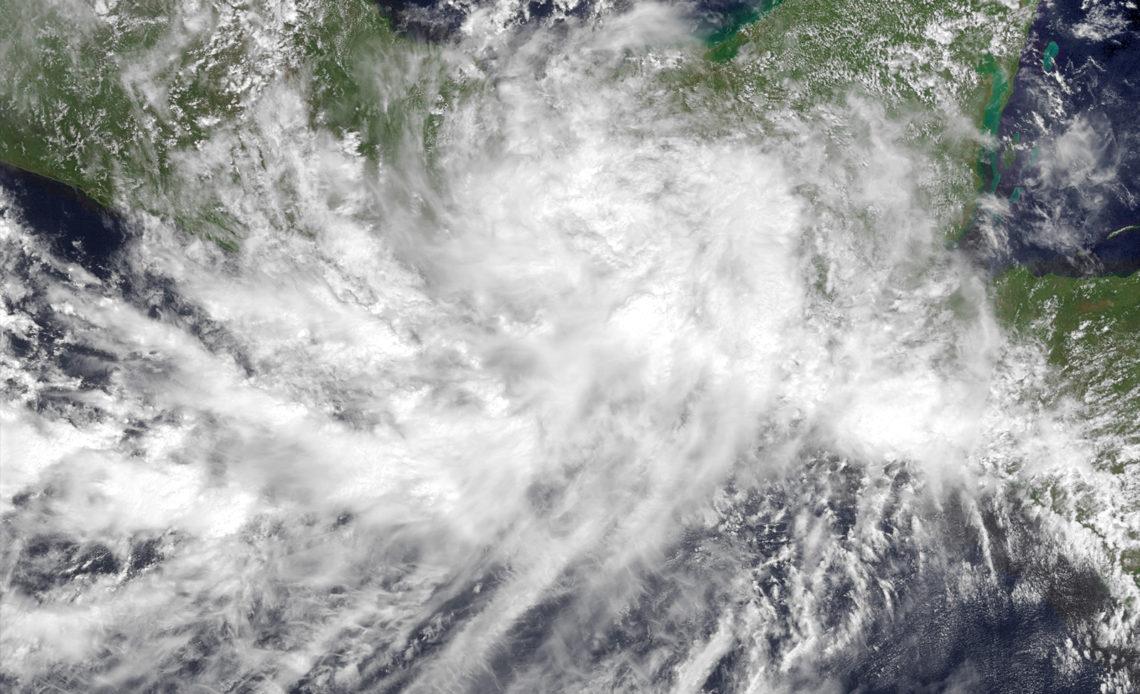 Depresión tropical 12 e - México