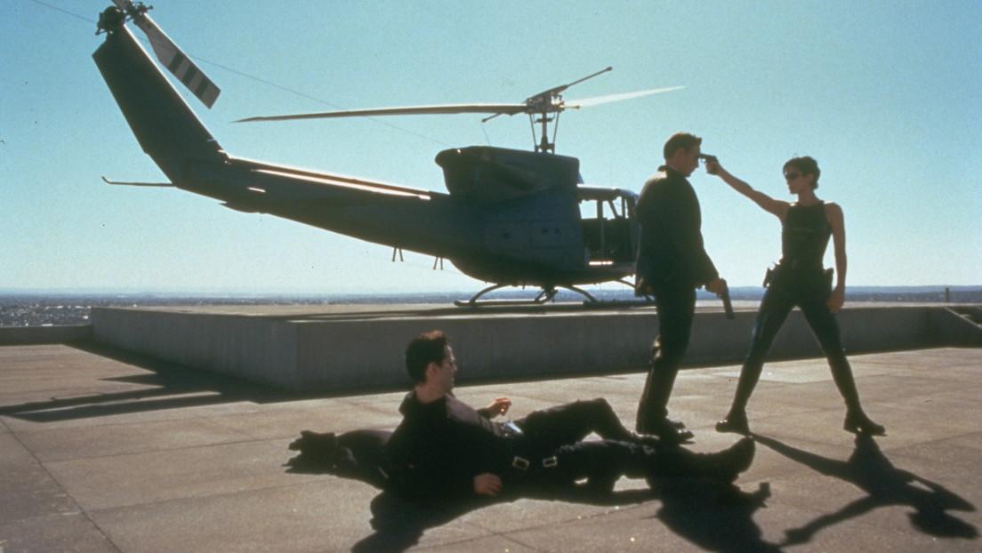 Escena de la película The Matrix