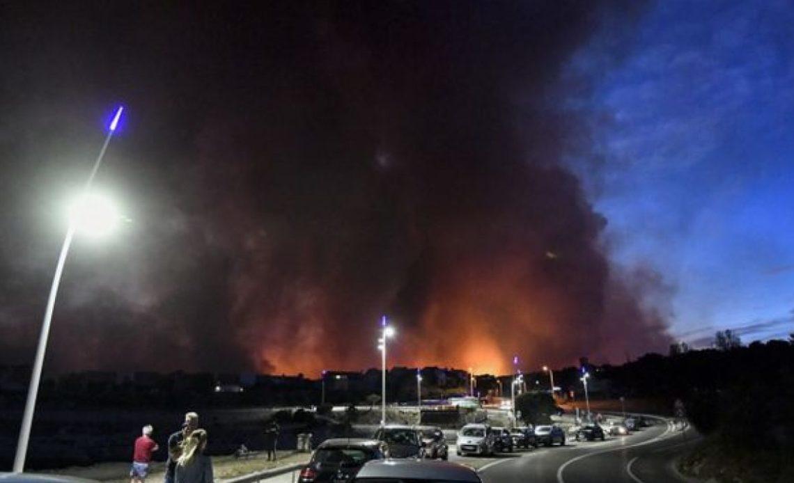 Fuegos en Marsella