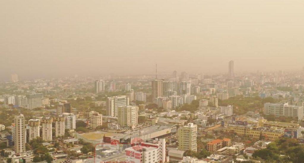 Polvo del Sahara en República Dominicana.