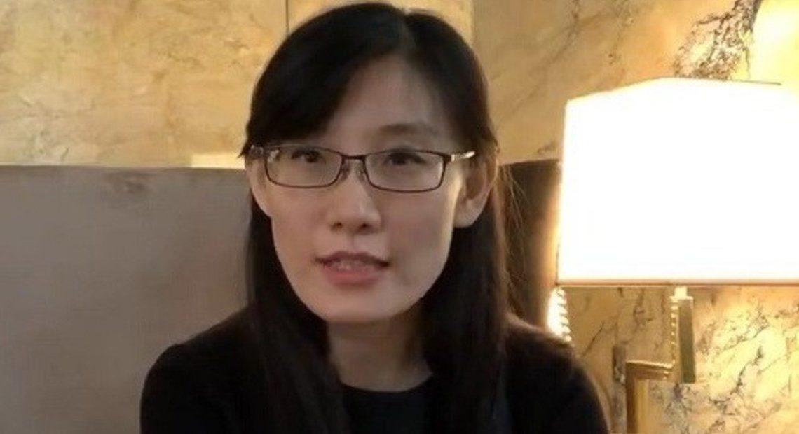 Li Meng Yan, en una nueva entrevista desde Estados Unidos.