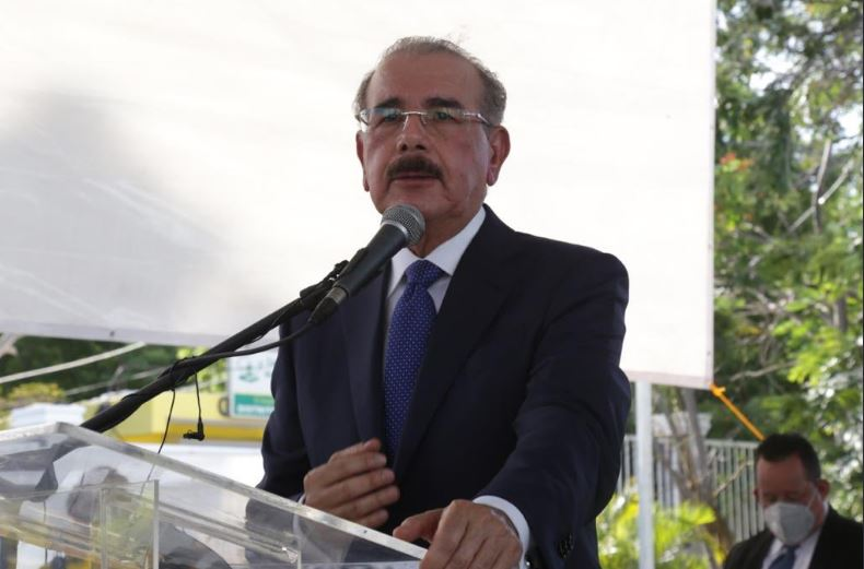 Mandatario Danilo Medina