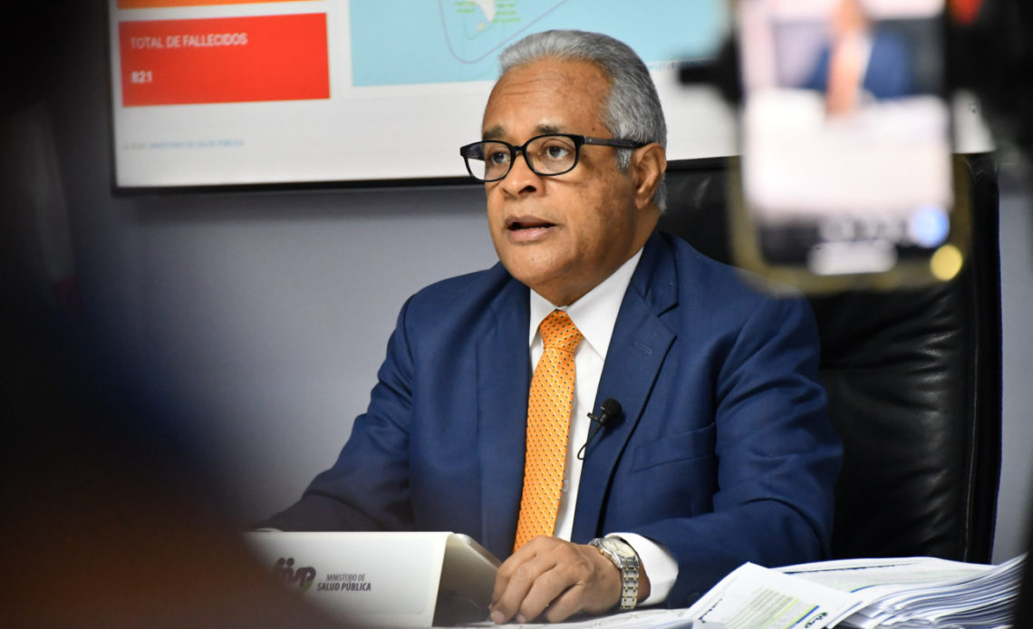 Ministro de Salud Pública, Rafael Sánchez Cárdenas