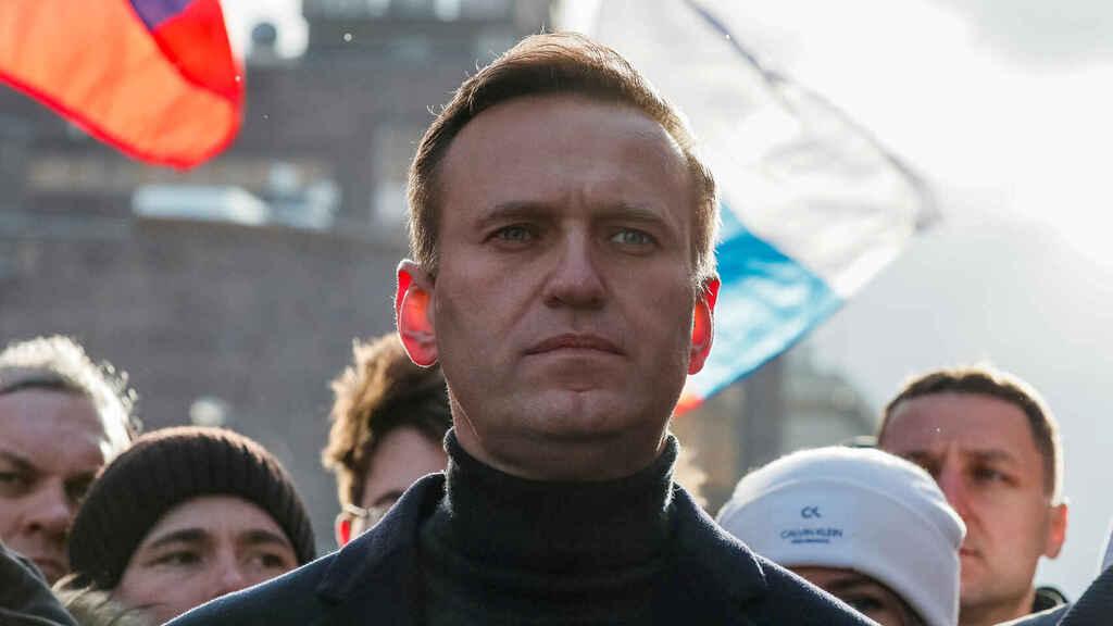 Político opositor ruso Alexei Navalny