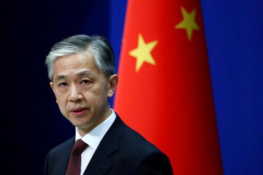 Portavoz del Ministerio de Exteriores de China,Wang Wenbin. Fuente externa.
