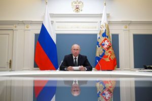 Bladimir Putin presidente de Rusia