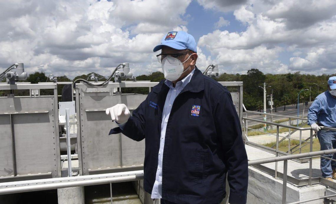 Producción de agua potable para GSD supera los 400 millones de galones por día