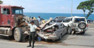 Muertes por accidentes de tránsito