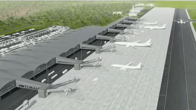 Aeropuerto Internacional de Bávaro, visita del presidente Luis Abinader a Punta Cana