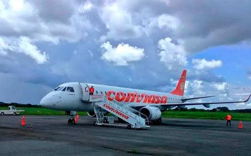 Avión venezolano