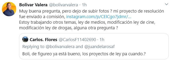 El diputado por la circunscripción 2, de Santo Domingo Este, Bolívar Valera, responde comentarios negativos.