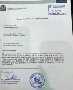 Carta Propuesta diputado.