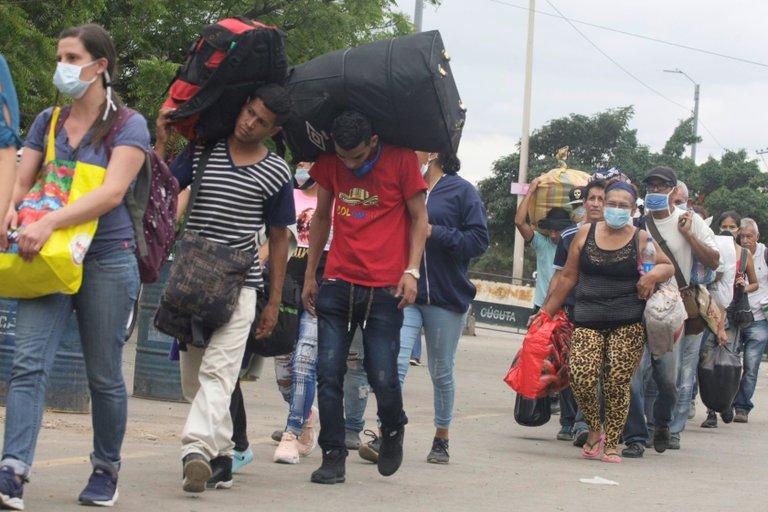Refugiados venezolanos (EFE)