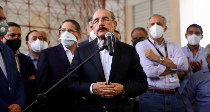 Danilo Medina, expresidente del país