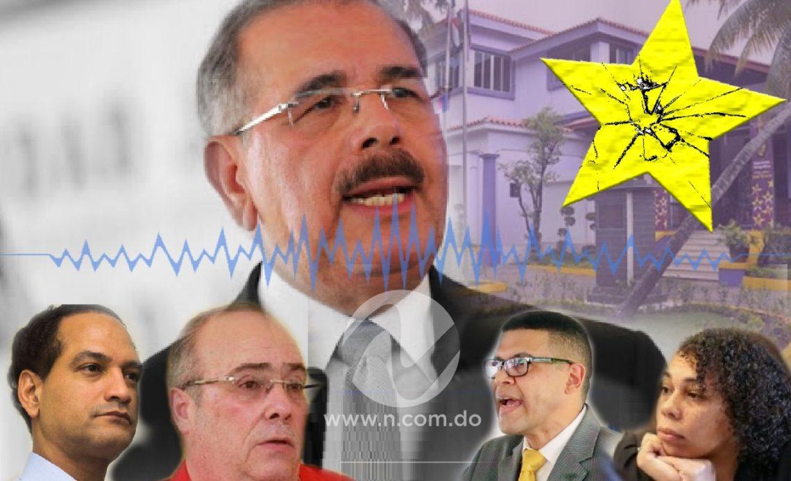 Danilo Medina y divulgación de audio.