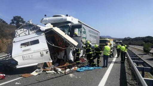 Accidente en Cádiz