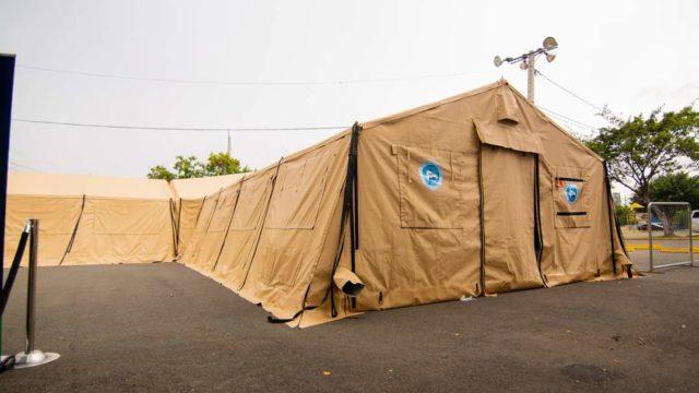 Estados Unidos dona 2 hospitales móviles a República Dominicana