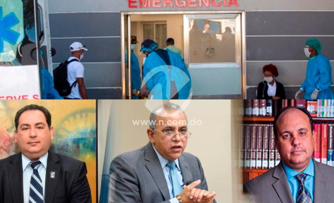 Autoridades hablan sobre situación hospitalaria en el país