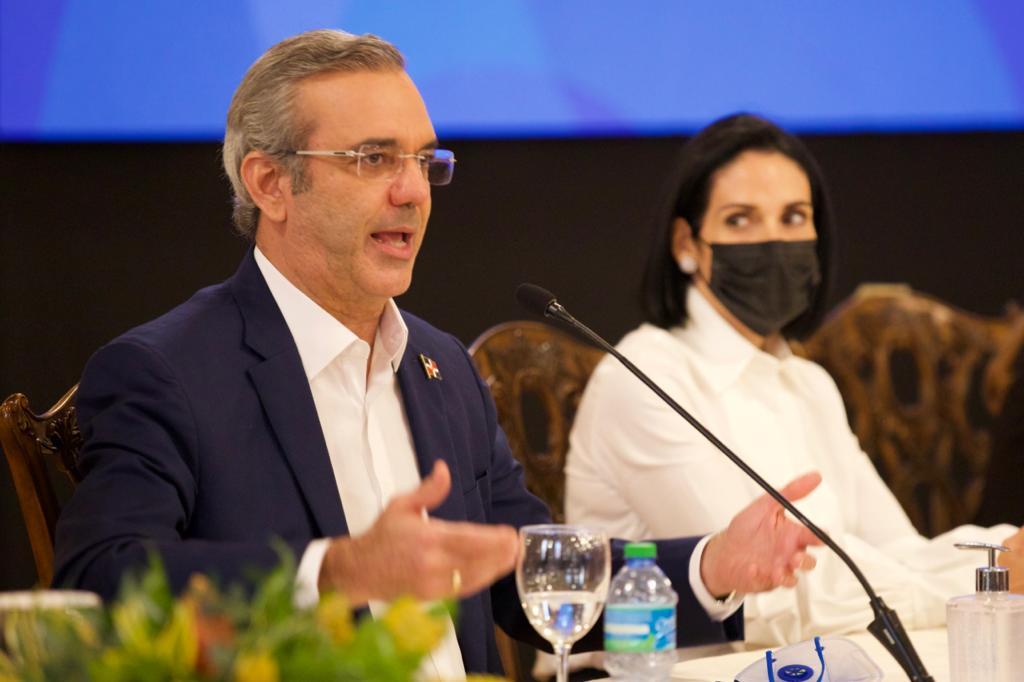 Luis Abinader, presidente de RD.