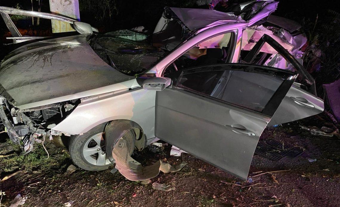 Accidente en Baní