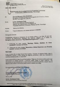 Alofoke demanda a Rafael Guerrero.