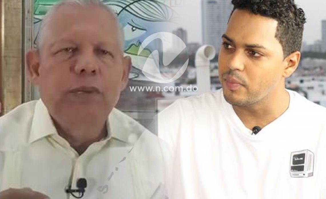 Alofoke y Rafael Guerrero.