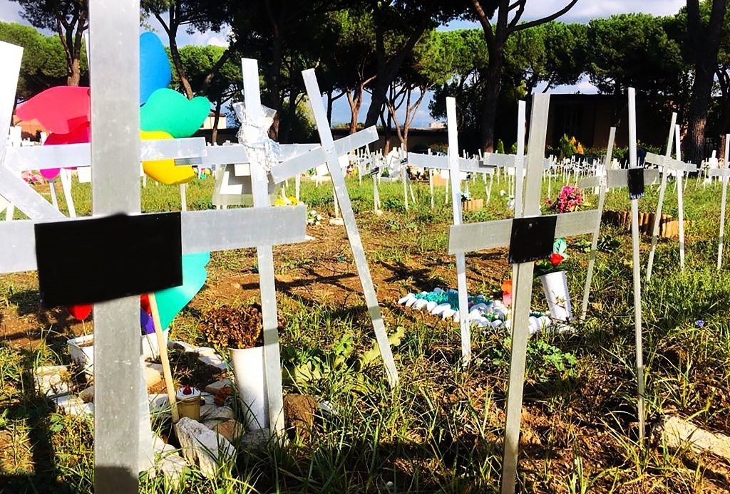 Cementerio de Fetos en Italia.