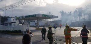 Explosión en Estación de Gas