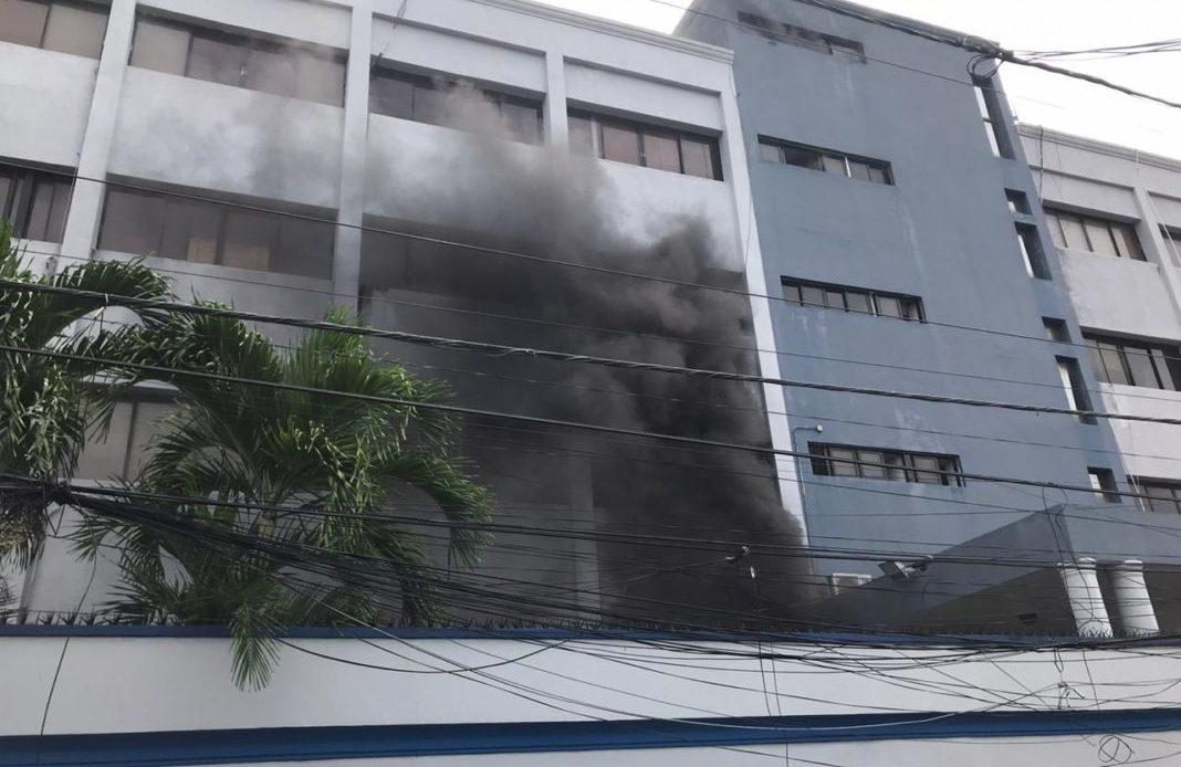 Incendio en Salud Pública