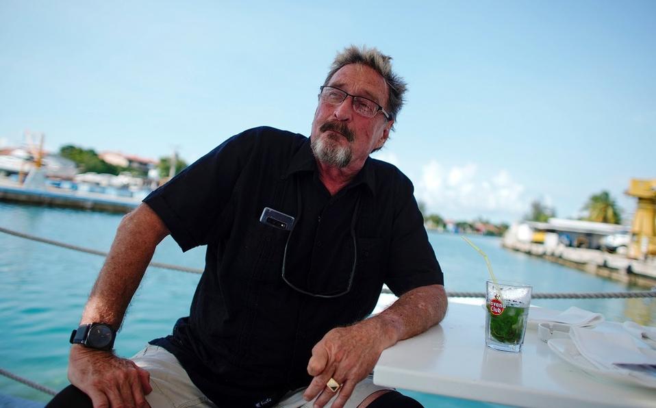 John McAfee en la República Dominicana