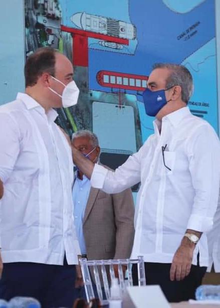 José del Castillo y Luis Abinader