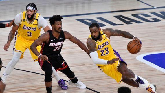 Juego de los Lakers y Heat