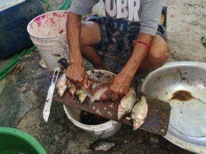 Pescadores del municipio Cabral en Barahona